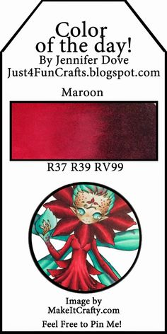 Just4FunCrafts: Color of the Day 174