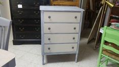 Painted and white washed refurbished dresser for sale at Frugal Fortune, Lakewood, Ohio 44107. $169.00. Nationwide shipping available.