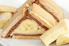 Banana cake without baking Belgian Food, Ice Cream Candy, Cake Cookies, Cupcakes, No Bake Cake, Vanilla Cake, Cravings, Sweet Tooth, Sweet Treats
