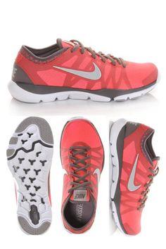Women\u0026#39;s Nike Flex Supreme TR 3 Punch/Gry/White | Shoe Carnival