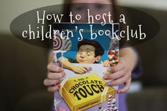 Hosting a Children's Bookclub. Love this idea! // parscaeli