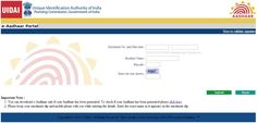 How to Download e-Aadhaar Card Online   Aadhaar Card Status