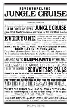 DesignerLand Jungle Cruise