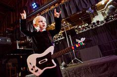 Rock n Roll Concert Wedding: Jenifer & Chris