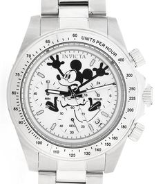 "Invicta Makes A New Batch Of Limited-Edition Disney Mickey Mouse Watches & They Are Mostly Sold Out - by Ariel Adams - Is there a Mickey Mouse-inspired piece for all tastes? More details at: aBlogtowatch.com ""It feels like just weeks ago (it was a few months) when I visited Disneyland here in Southern California and found a general lack of anything even remotely horologically worthwhile. Mickey Mouse has a fine history of being on wrist watches..."""