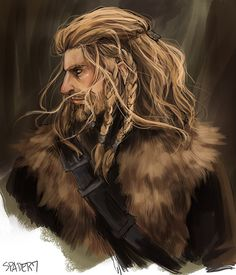 Fili by Spader7. I think Kili's been getting a lot of love lately. I think it's Fili's turn :D