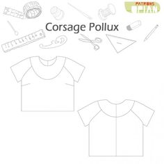 Opian offers you this superb Pollux sewing pattern that will allow you to make a trendy blouse with a cut out Pdf Sewing Patterns, Sewing Clothes, Sewing Hacks, Fabric, Inspiration, How To Make, Blog, Clothing, Presents