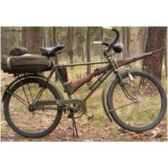 Polish army bicycle 1939 - amazing!