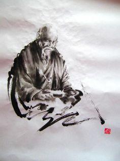 Aikido Insight - #Aikido calligraphy #O-Sensei