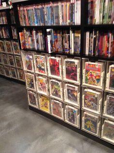 Comic book storage idea                                                                                                                                                                                 More