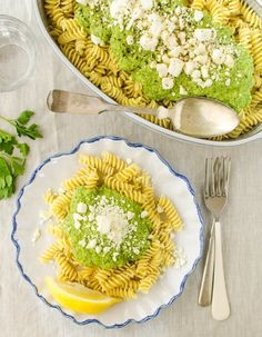 Recipe: Broccoli & Feta Pesto