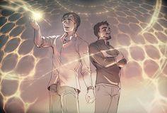 Doodle 20150608 Science Bros by arashicat