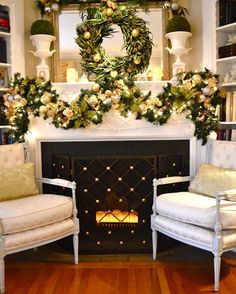 Beaux Mondes Designs: Green,Gold & Sliver Christmas