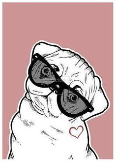 what will you create today?, pug love by Jxmes on www.createtoday.com
