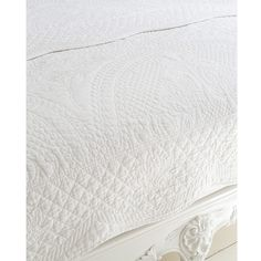Colette Ice Quilted Bedspread by The French Bedroom Company
