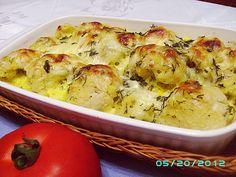 Reteta culinara Conopidă gratinată din categoria Mancaruri de legume. Cum sa faci Conopidă gratinată Romanian Food, Romanian Recipes, Vegetable Side Dishes, Cauliflower, Healthy Snacks, Good Food, Potatoes, Cooking Recipes, Vegetarian