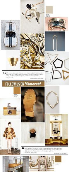 Curating the Curated: Gold #Pantone
