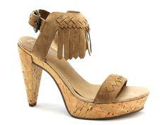 SPM sandalen met plateau en fringes. Ibiza style. €69,95 #spm #ibiza #style #sandalen #fringes