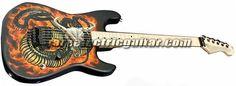 Charvel USA Custom Shop Strat 'Snake & Skull' Electric Guitar price:$0 - Electric Guitars for sale