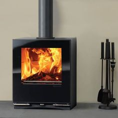 Stovax Riva Vision Small Multifuel Stove (RVN-SMM)