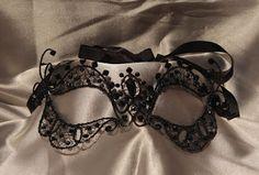 Zamaskowana: Maska wenecka Black rebel