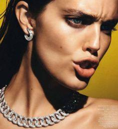 Emily DiDonato for Vogue Paris February 2014 3