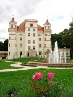 Palace in Wojanow Poland