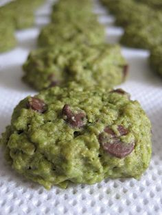 Matcha Oatmeal Cookies   Get Your Own Boutique Organic Matcha Today: http://amzn.to/262rVnp
