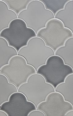 New Shapes in the  Pratt & Larson Collection ~ Large Scalloped Fan