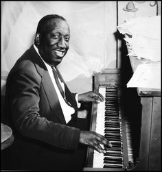 James P. Johnson sometime in the '40s