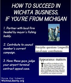 How to succeed in business in Wichita.