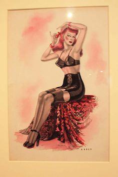 Pin Up Girls - Wilfrid R. Addey - Britain 1940's
