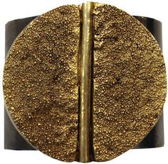 ShopStyle: Paige Novick Two Tone Cuff Medallion In Gold