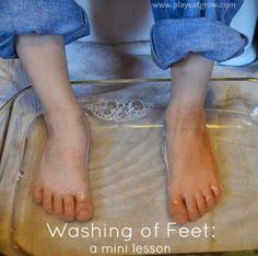 washing of feet