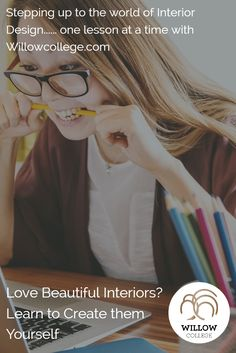 Are you looking for a career in Interior Design? Step over to willowcollege.com where you can learn interior design online. Simple 3 minute lessons. Visit WillowCollege.com today #learninteriordesign #interiordesign #onlinelearning #onlineinteriordesigncourse #createinteriors #lovehomedesign #homedesign #creativecareer #willowcollege #studyonline #affordableonlineinteriordesigncourse