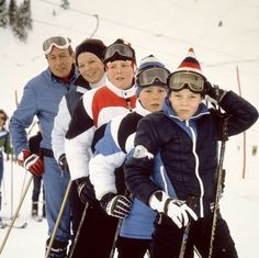 .Prince Claus, Queen Beatrix, Willem Alexander, Johan Friso, Constantijn