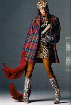 ☆ Helena Christensen   Photography by Marc Hispard   For Elle Magazine France   Sepember 1992