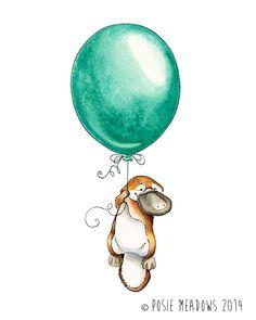 """Platypus Goes Adventuring"" Posie Meadows"