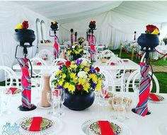 Love this deco, the centre piece. omg - Love this deco, the centre piece… omg - African Party Theme, African Wedding Theme, Wedding Themes, Wedding Colors, Wedding Centerpieces, Wedding Table, Diy Wedding, Wedding Decorations, Wedding Hijab