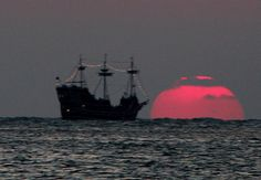Pirate Sunset.  By Evan Brenner. 2012.