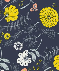 print & pattern blog features fabric by leah duncan
