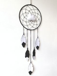 Awesome Dream Catcher! Scandinavian vibes.. Pin now, check out later! - pinned by pin4etsy.com