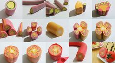 the art of making mini food... artist Shay Aaron