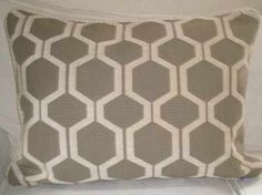 Honeycomb Cushion made as a sixe of 24 x 18 inches Also available as Mini Honeycomb in a size of 18 x 12 inches Cream Cushions, Retro Fabric, Wow Products, Honeycomb, Linen Fabric, Retro Fashion, Fabrics, Velvet, Shapes