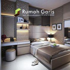 desain master bedroom apartemen jakarta surabaya