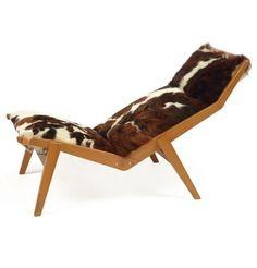 Lounge chair (circa by Pierre Guariche 1950s Furniture, Furniture Styles, Furniture Decor, Modern Furniture, Furniture Design, Divan Sofa, Lounge Sofa, Mid Century Design, Beautiful Interiors