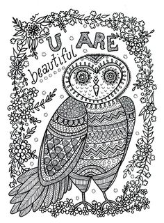 Owl Abstract Doodle Zentangle Paisley Coloring pages colouring adult detailed advanced printable Kleuren voor volwassenen coloriage pour adulte anti-stress kleurplaat voor volwassenen https://www.facebook.com/848770148469936/photos/pb.848770148469936.-2207520000.1438815488./938227356190881/?type=3