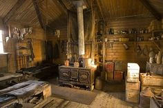 The inside of my future winter/hunting cabin