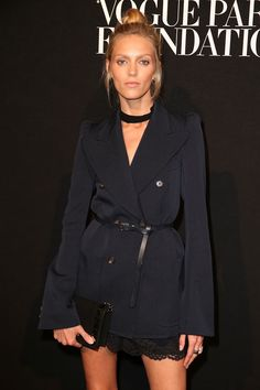 Anja Rubik at the Vogue Paris Foundation