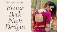 Pattu Saree Blouse Designs, Choli Designs, Designer Blouse Patterns, Fancy Blouse Designs, Blouse Back Neck Designs, Dress India, Puri Recipes, Stylish Blouse Design, Blouse Models